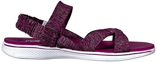 Sandali e infradito per le donne, colore Borgogna , marca SKECHERS, modello Sandali E Infradito Per Le Donne SKECHERS H2 GOGA BOUNTIFUL Borgogna Borgogna