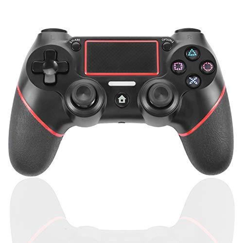 PS4 Controller Wireless Bluetooth Game-Controller Dualshock Gamepad für Playstation 4 Touch Panel Joypad mit Dual-Vibration, sofort Zeit zum Teilen von Joystick -