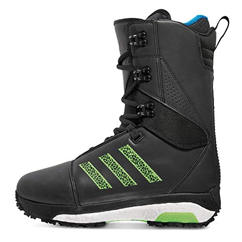 adidas Originals Snowboard Boots Tactical Boost - Core Black/Solar Green/White - Adidas Boot
