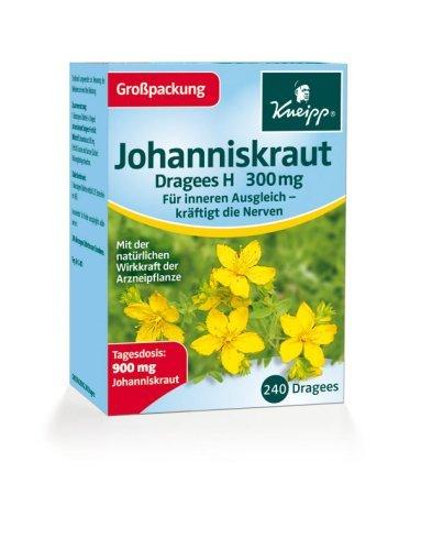 Kneipp Johanniskraut H, 240 Dragees 5er Pack 5x240 Dragees