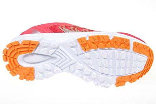 Gibra® Ladies Scarpe Sportive, Salmone, Taglia 36-41 Rosa / Arancio