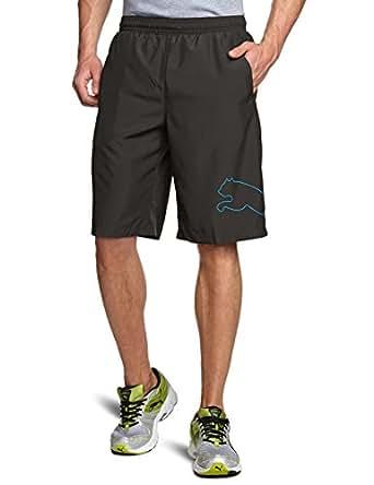 PUMA Herren Hose Multi Cat Shorts Trainingsshorts, Black, L