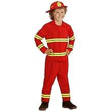 Widmann WDM03935 - Costume Per Bambini Pompiere (116 cm/4-5 Anni