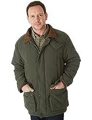 Sherwood Forest Seathwaite - Chaqueta de caza para hombre, color verde, talla XL