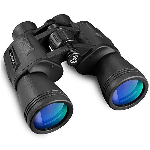 Fernglas für Erwachsene 12x50 Klein Ferngläser Wasserdicht HD Binokular Mini Ferngläser für Kinder mit Tasche und Gurt für Sterne , Bergsteigen , Wandern, Doppel-Teleskop für Jagen , Tierbeobachtungen
