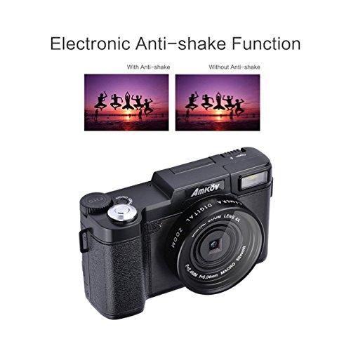 Amkov-AMK-R2-24MP-HD-1080P-LCD-180-fotocamera-digitale-SLR-DV--dello-schermo-girevole-da-30-TFT-con-funzione-di-bellezza-facciale