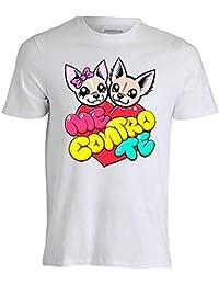 T-Shirt Maglietta -Me Contro Te- Replica Sofi e Lui Kira e Ray Cotone 100%