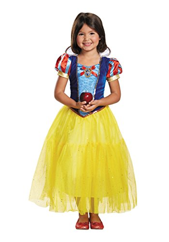 Disguise Snow White Deluxe Disney Princess Snow White Costume, X-Small/3T-4T, One Color by ()