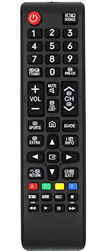 Ersatz Fernbedienung for Samsung TV UE43KU6500 UE43KU6509 UE43KU6510 UE43KU6519 UE43KU6640 UE43KU6650