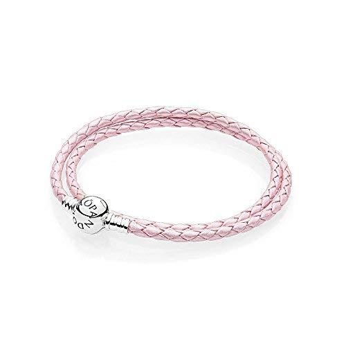 Pandora bracciali di corda donna argento - 590745cmp-d3