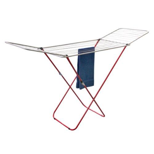 axentia Flügelwäscheständer mit Abklappflügeln 20 m - Wäscheständer klappbar -...