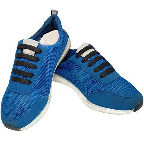FunFitness Cordones Elasticos Gomas Cordón Elasticas Zapatillas de Silicona para Halar y Bloquear Fácilmente...