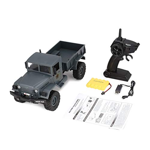 Kongqiabona fy001a 2.4 ghz 1/16 4wd off-road rc militare camion climber crawler rc auto telecomando con luce anteriore per bambini giocattolo regalo