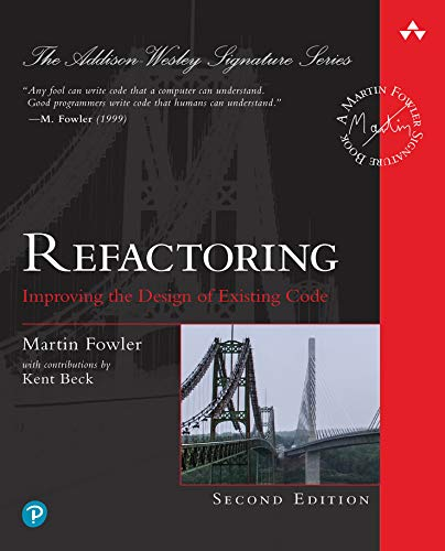 Refactoring book cover