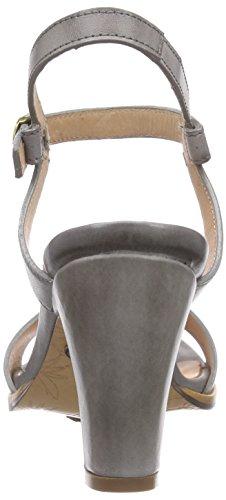 Neosens - Altesse, Scarpe col tacco con cinturino a T Donna Grigio (Grigio (grigio))