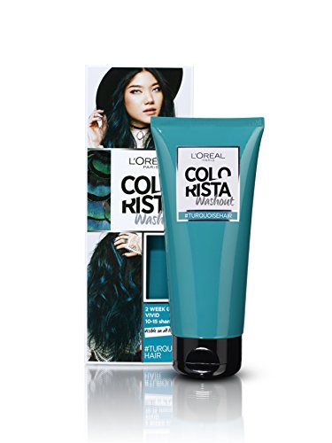 L'Oréal Colorista Washout Semi-Permanent Hair Dye, Turquoise