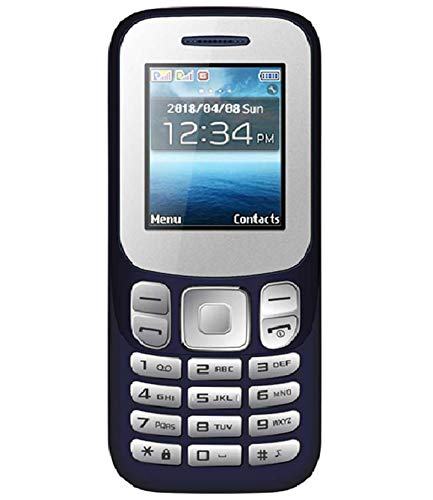 IKALL K16 Dual SIM Mobile Phone with 1000mAH Battery and 1.8-inch screen (Dark Blue)