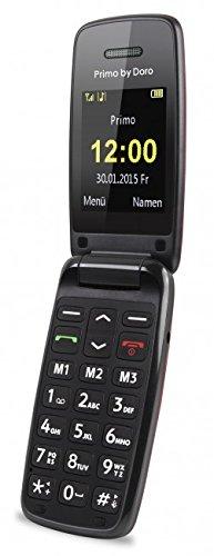 Doro PRIMO_401 Telefono Cellulare, Rosso