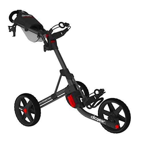 Clicgear Golftrolley Neuheit 2015 Modell 3.5 Golf Trolley Farbe: Black