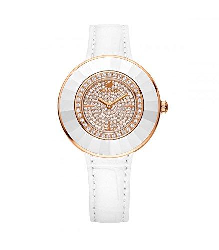 Orologio swarovski octea dressy bianco rosa–5095383