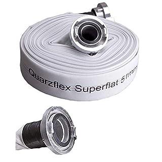 Quarzflex Industrie Bauschlauch C 52 mm 10 m Rolle incl. Gummischutz