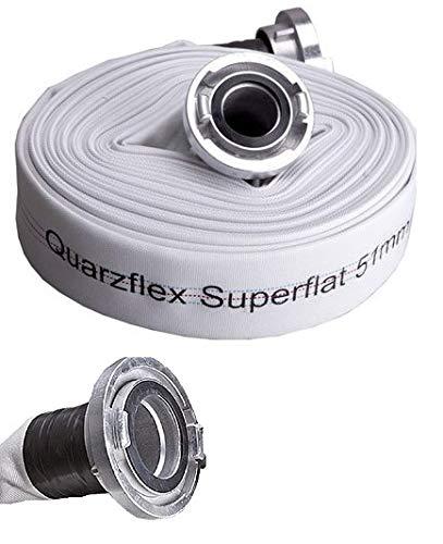 Quarzflex® Industrie Bauschlauch C 52 mm 20 m Rolle incl. Gummischutz -