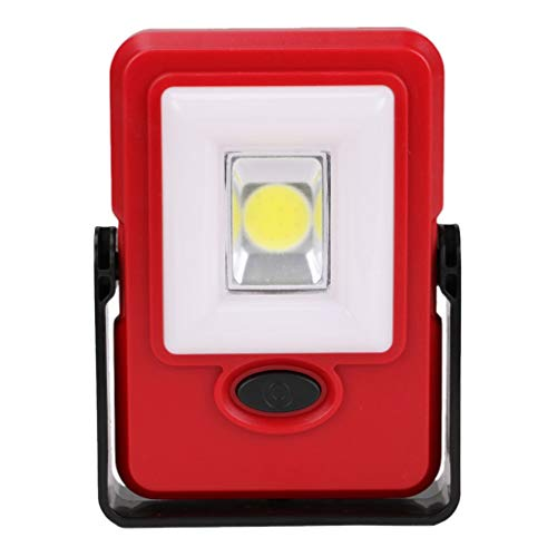 Xenon-streifen-lichter (Dicomi COB LED Taschenlampe Taschenlampen Magnetbatterie Inspektion Arbeitslicht Schrankwandschrank Leuchte Rot)