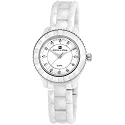 Herzog & Söhne Ladies' Watch XS Analogue Quartz Ceramic HSW0A-586A