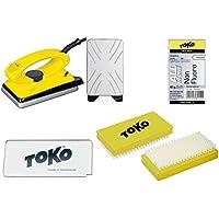 TOKO cera-Set 4 teilig incluye plancha de encerado - para ALPIN + Nordic + board