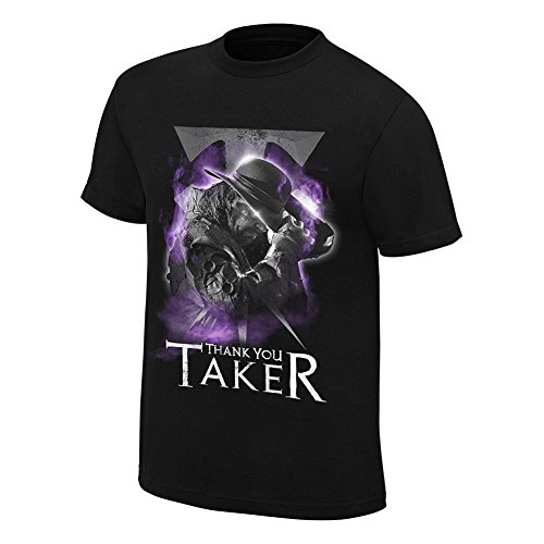 WWE The Undertaker Thank You Taker T-Shirt (L) (T-shirt Wwe Undertaker)