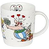 Könitz Asterix Ich Bin Verliebt Becher, Tasse, Kaffeetasse, Bone China, Obelix, 400 ml, 11 7 275 2050