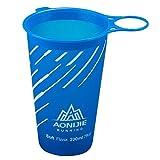 Lixada BPA Free Taza Plegable del Agua Suave para El Ciclo Al Aire Libre del Maratón de Los Deportes 200ML