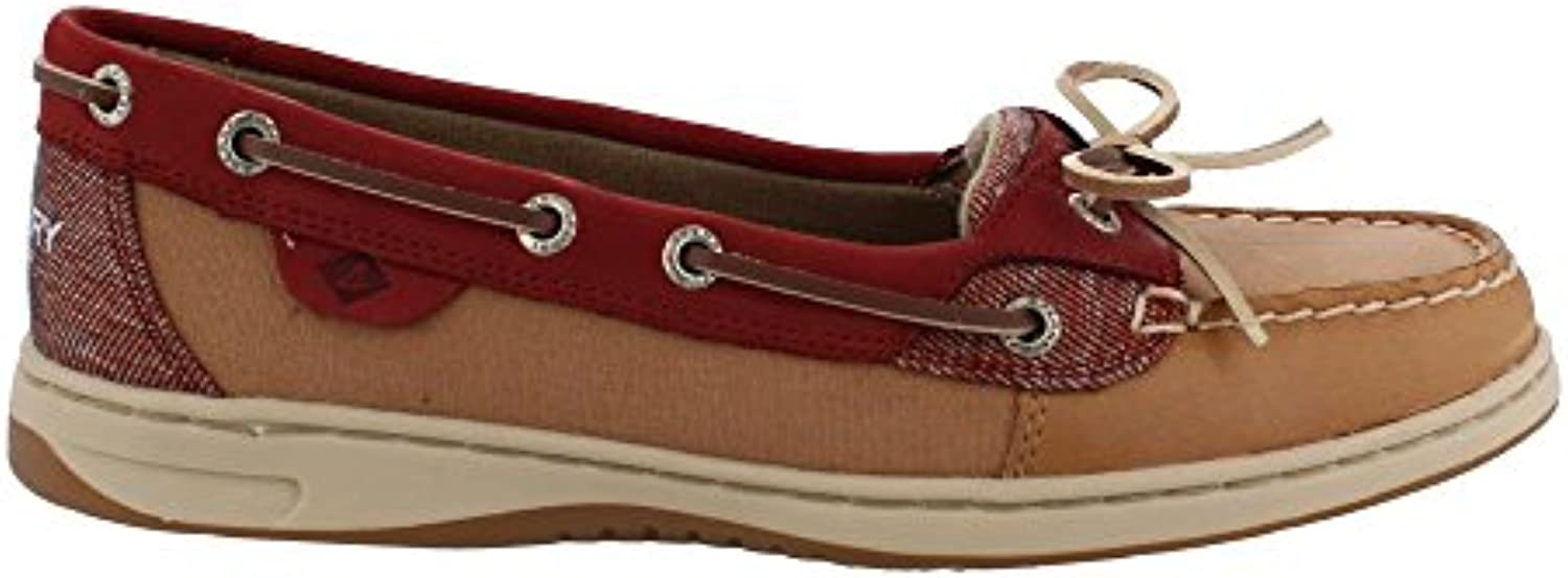 Sperry Top-Sider Wouomo Angelfish 2-Eye Oat Slip-On Slip-On Slip-On Loafer (5 B(M) US, rosawood Sahara)   In Linea Outlet Store  56fcd0