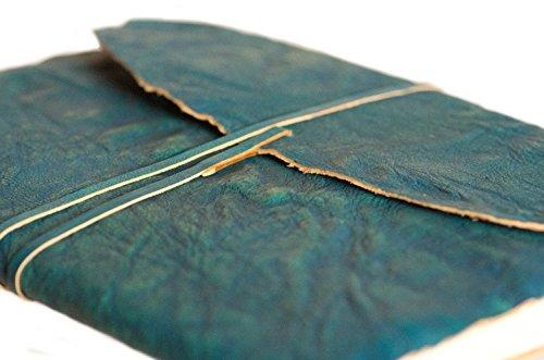 indiary Luxusnotizbuch Tagebuch aus echtem Leder und handgeschöpftem Papier - Grain Leather -...