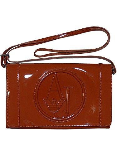 Armani Jeans Damen Tasche Umhängetasche Clutch Orange (Jeans Avenue Denim)
