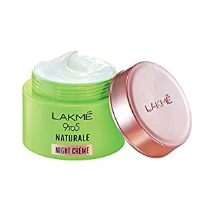 Lakmé 9 to 5 Naturale Night Creme, 50 g