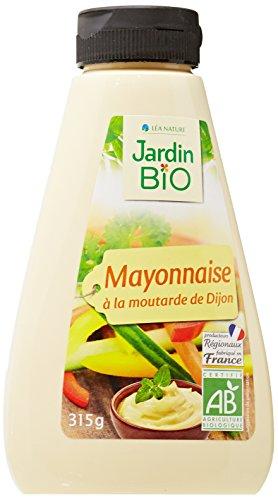 Jardin Bio Mayonnaise à la Moutarde de Dijon 315 g - Lot de 3