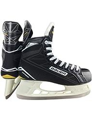 Bauer Supreme Speed Ti Skate Jr EH de Skat Negro de gris de oro, otoño/invierno, color schwarz-grau-gold, tamaño 5