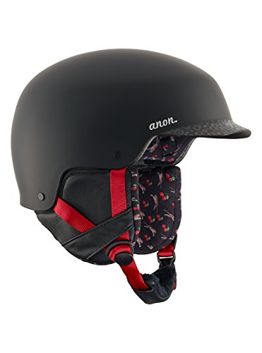 Anon aera, casco snowboard donna, black cherry, s