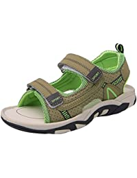 f8cafac181d27 Insun Sandalias Velcro para Niño Las Zapatillas de Deporte Zapatillas de  Deporte Al Aire Libre