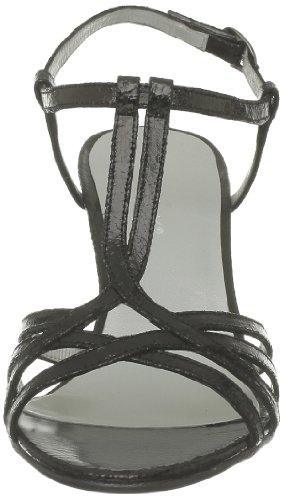 JONAK 11080 088-11080ME/E3, Sandali col tacco donna nero (Noir)
