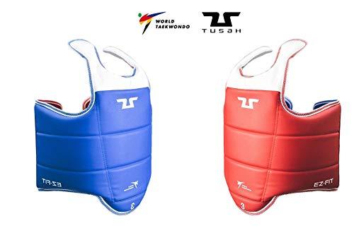Tusah WTF Taekwondo Body Displayschutzfolie (wendbar), Reversible