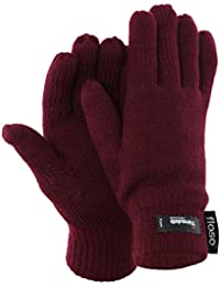 FLOSO - Gants thermiques Thinsulate (3M 40g) - Femme