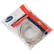 Quantum CT-80887 Ethernet Patch Cord CAT5 RJ45 LAN Straight Cable (White)