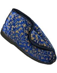 Footwear Studio , Chaussons pour femme Bleu bleu 41.5 (8 UK)