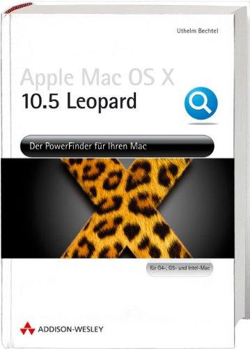 Apple Mac OS X 10.5 Leopard - Der Powerfinder für Ihren Mac. Jetzt vierfarbig! (Apple Software)