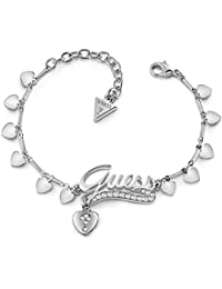 f3259e2516e6 Guess Bracelet Million Hearts Métal Rhodié UBB85138