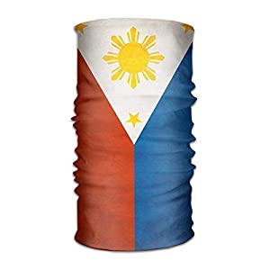 Sturmhauben Philippine Flag Multifunctional Magic Headwear 12-in-1 Men&Women Tube Scarf Facemask Headbands Neck Gaiter Bandana Balaclava Helmet for Outdoor Running Yoga Work Out