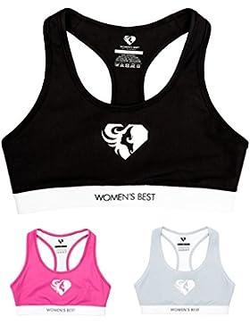 WOMEN'S BEST Exclusive Bra (S, Nero/Bianco)