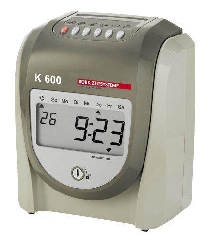 Preisvergleich Produktbild BÜRK MOBATIME Zeiterfassungsgerät K 600